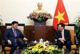 Le vice-Premier ministre Pham Binh Minh reçoit le vice-ministre sud-coréen des AE