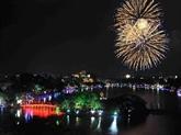 Hanoï accueille le Nouvel An 2019 avec les festivités