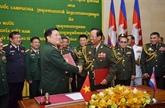 La défense est le pilier des relations de coopération Vietnam - Cambodge