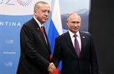 Poutine et Erdogan conviennent de nouvelles mesures pour créer une zone démilitarisée en Syrie