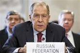 Lavrov: la Russie prête à reprendre le dialogue avec les États-Unis