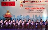 Le bateau de la jeunesse ASEAN - Japon arrive à Hô Chi Minh-Ville