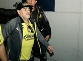Mexique: les Dorados de Maradona perdent la finale de D2