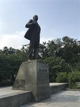 La statue de Lénine à Hanoï, l'une des dernières d'Asie