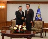 Le Vietnam attache toujours de l'importance aux relations avec la République de Corée