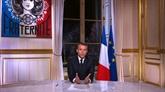 Macron parle, les