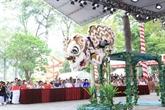 Clôture du Festival de danse des licornes-lions-dragons