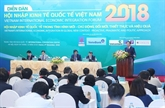 Le Forum dintégration à léconomie internationale du Vietnam 2018