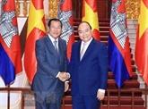 Développement des relations d'amitié et de bonne coopération Vietnam - Cambodge