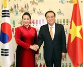 Vietnam - R. de Corée: entretien entre deux présidents de l'Assemblée nationale