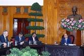 Le Premier ministre reçoit des investisseurs internationaux en tourisme