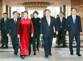 La rencontre entre Nguyên Thi Kim Ngân et Moon Hee-sang couverte par la presse sud-coréenne