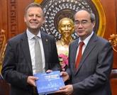 Hô Chi Minh-Ville accueille une délégation de Leipzig