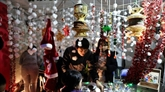 Marché et concert de Noël à l'église de Cua Bac à Hanoï