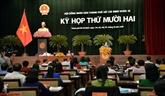 Clôture de la 12e session du Conseil populaire de Hô Chi Minh-Ville