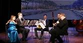 Un échange musical entre les artistes