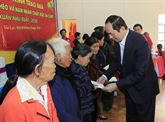 Têt : le chef de l'État se rend à Gia Lai