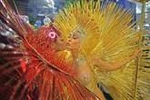Le sambodrome de Rio vibre au rythme d'un carnaval somptueux et engagé
