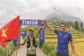 Deux super-héros du trail vietnamien