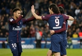 Ligue 1 : Paris se rassure, Saint-Étienne se donne de l'air
