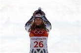 JO-2018 : la snowboardeuse tchèque Ester Ledecka médaillée d'or du Super-G