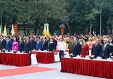 Célébration des 229 ans de la victoire de Ngoc Hôi - Dông Da