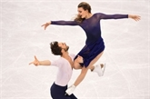 JO-2018 : l'or se dérobe sous les patins de Papadakis et Cizeron