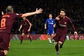 Barcelone peine mais sauve les meubles à Chelsea