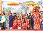 Quang Ninh : Procession humaine- patrimoine culturel immatériel national