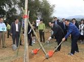 Lancement de la Fête de plantation d'arbres du Printemps Mâu Tuât 2018