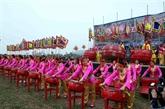 Ouverture de la fête Tich Diên 2018 à Hà Nam