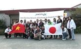 Échange entre jeunes japonais et vietnamiens