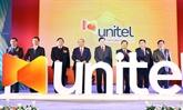 Les Premiers ministres vietnamien et lao visitent le siège de Start Telecom