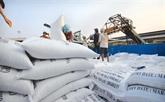 Forte hausse des exportations de riz en janvier