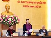Plusieurs projets de loi au menu de la 21e réunion du Comité permanent de l'AN