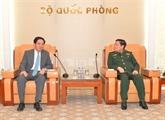 La coopération dans la défense est un pilier des relations Vietnam - Chine