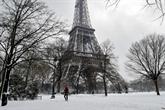 France : après la neige, craintes sur le gel et le verglas en Île-de-France