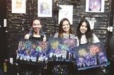 Peindre pour se détendre, un phénomène chez les jeunes