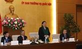 La vice-présidente de l'AN rencontre d'anciens enseignants vietnamiens en Thaïlande