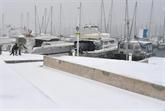 Le Sud de la France sous la neige : alerte rouge dans l'Hérault