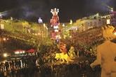 Carnaval de Nice 2018 : roi de l'espace