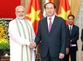 De bonnes perspectives dans les relations Vietnam - Inde
