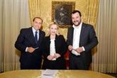 Italie : la droite cherche à se montrer unie avant les élections