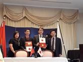 Aide japonaise pour les projets de santé et déducation au Vietnam