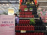 Le groupe Central Vietnam inaugure la boutique Hello Beauty ànbspHanoï