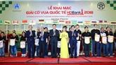 Ouverture du Tournoi international déchecs HDBank 2018 à Hanoï