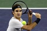 Tennis : Federer contrarié par la pluie à Indian Wells