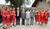 Rencontre d'amitié Vietnam - Laos en l'honneur du Nouvel an traditionnel lao