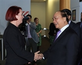 Le PM Nguyên Xuân Phuc entame sa visite en Nouvelle-Zélande