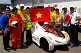 Nouveau champion du Shell Eco Marathon Asia 2018
